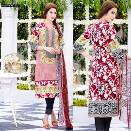 Amna Ismail Semi Stitched Lawn Collection 2016 AIL-372