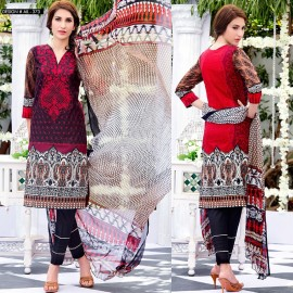 Amna Ismail Semi Stitched Lawn Collection 2016 AIL-373