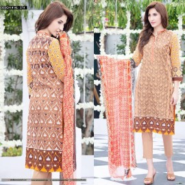 Amna Ismail Semi Stitched Lawn Collection 2016 AIL-374