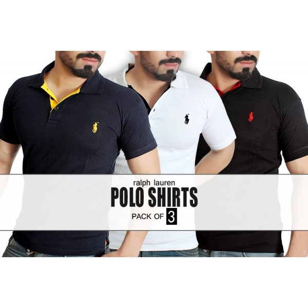 Pack of 3 Ralph Ralph Lauren Shirts MT-7032