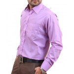 Lilac Men Formal Shirt