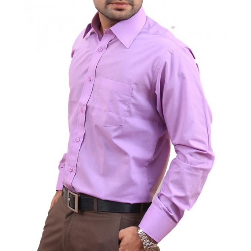 Lilac men formal shirt for Mens lilac dress shirt