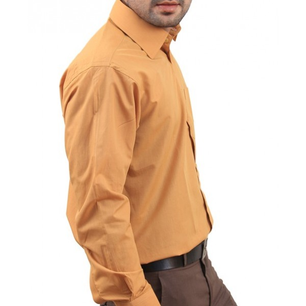Mustard Men Formal Shirt