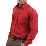 True Red Men Formal Shirt