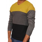 Stylish V Neck Jumper Sweat Shirt