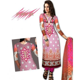 Ladies Printed Suit Design 907 2A