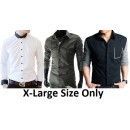 3x Designer Shirt Bundle