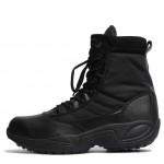 KOF Original Chase Side-Zip Black Tractical Boots