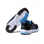 Ksaite Black And Blue Sport Shoes