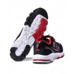 Ksaite Black And Red Sport Shoes