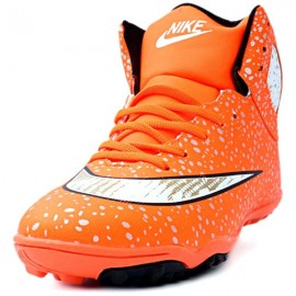 Orange Polka Dots CR7 Sport Shoes DR-029