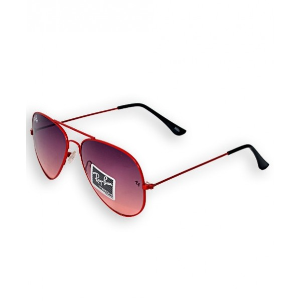 Ray Ban Aviator Style Red Sunglasses 3025