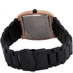 Movado Luma Style Black Copper Watch