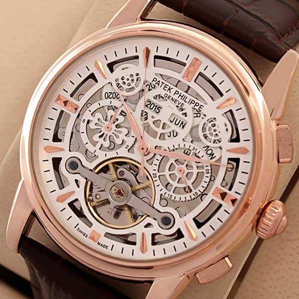 Patek Philippe Grand Tourbillon Calendar Watch