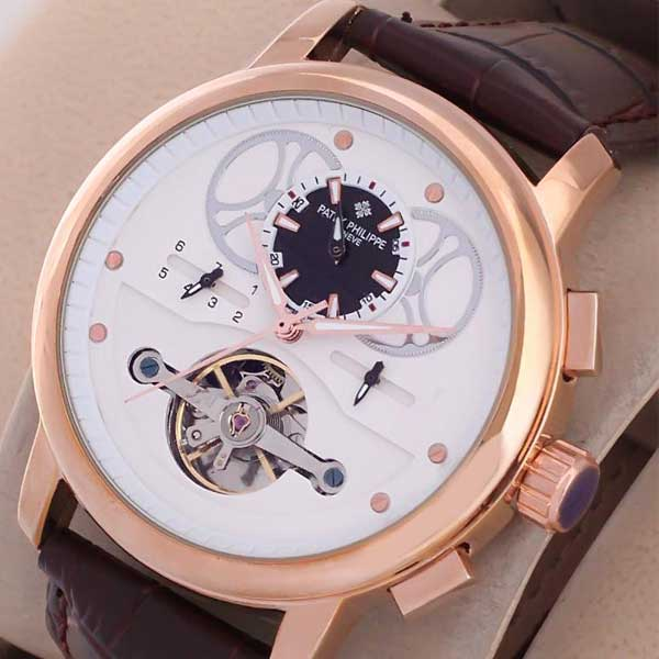Patek Philippe Rose Geneve Tourbillon Watch