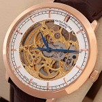 Patek Philippe Skeleton Tourbillon Rose Watch