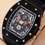 Richard Mille Black Jean Todt Limited Editions Watch