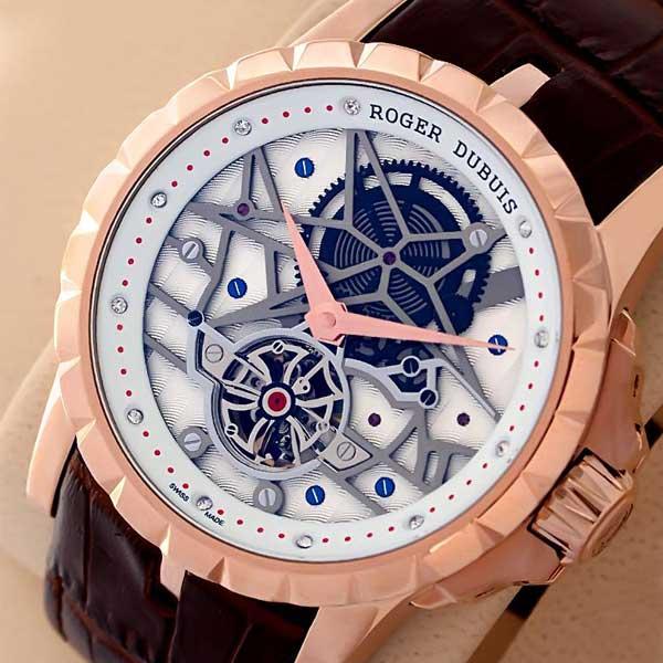 Roger Dubuis Horloger Genevois Excalibur Watch