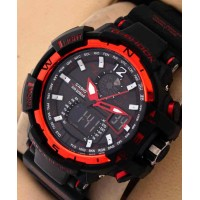 Casio G-Shock Protection WR-20 Bar Red Watch