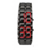 Red LED Faceless Watch