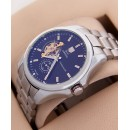 Tag Heuer Silver Grand Carrera Pendulum Automatic Watch
