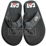 Cat Black Flip Flop Slippers