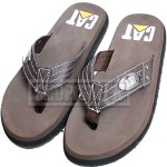 Cat Choco Brown Flip Flop Slippers