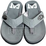 Cat Grey Flip Flop Slippers