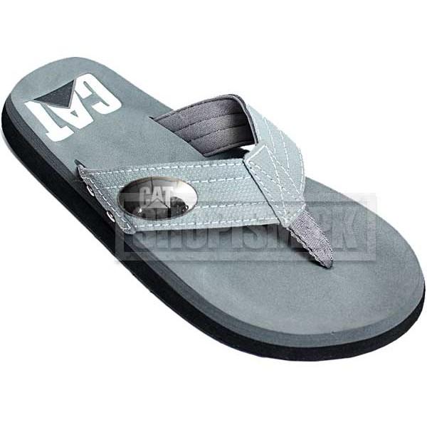 Cat Grey Flip Flop Slippers