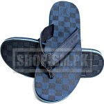 Louis Vuitton Blue Flip Flop Slippers