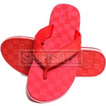 Louis Vuitton Red Flip Flop Slippers