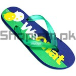 Wechat Green Flip Flop Slippers